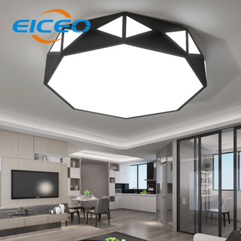 US $168.0 |(EICEO) LED Ceiling Light Lamp Modern Living Room Lamps Main  Bedroom Lights Iron Creative Personality Lighting-in Ceiling Lights from ...
