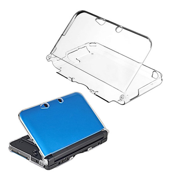 New Arrival For Protective Clear Crystal Hard Guard Case Cover Skin Shell for Nintendo 3DS XL LL