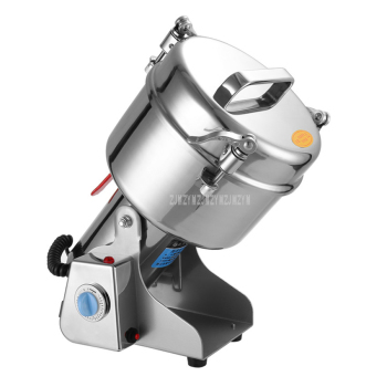 YB-2500A 2500g 4200W Stainless Steel Herbal Dry Food Grinder Machine Spices Cereals Crusher Electric Mill Grinder Kitchen Tool