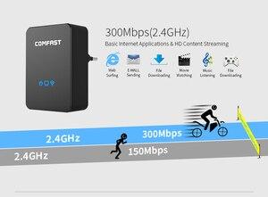 Image 2 - Répéteur de routeur sans fil Comfast répéteur de gamme répéteur Wi fi 300 mbps routeur Portable répéteur de Signal Wifi Booster de Signal Wifi