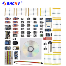 Best Buy Raspberry Pi 3 Sensor Module + Resistor Module LED SMD Modules + HC-SR04 +MP1584EN + Power Module for Arduino DIY Learning + Box