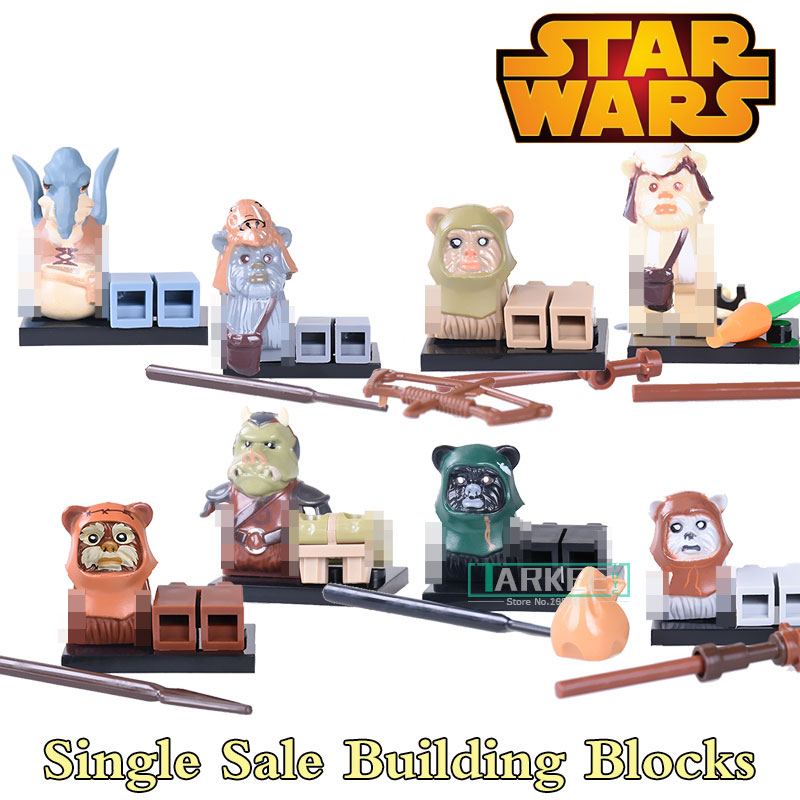 Building Blocks PG8067 Watto Ewok Attack Battle of Endor Super Heroes Star Wars Model Bricks Kids DIY Toys Hobbies Figures building blocks lesaro lieutenant pirates of the caribbean figures star wars super heroes set model bricks kids diy toys hobbies