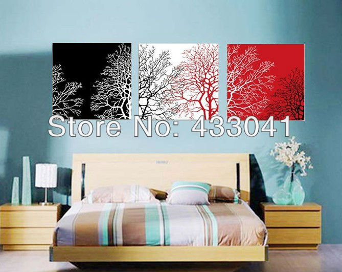 Online Wall Art Sets Of 3 Piece Modern Abstract Still Life