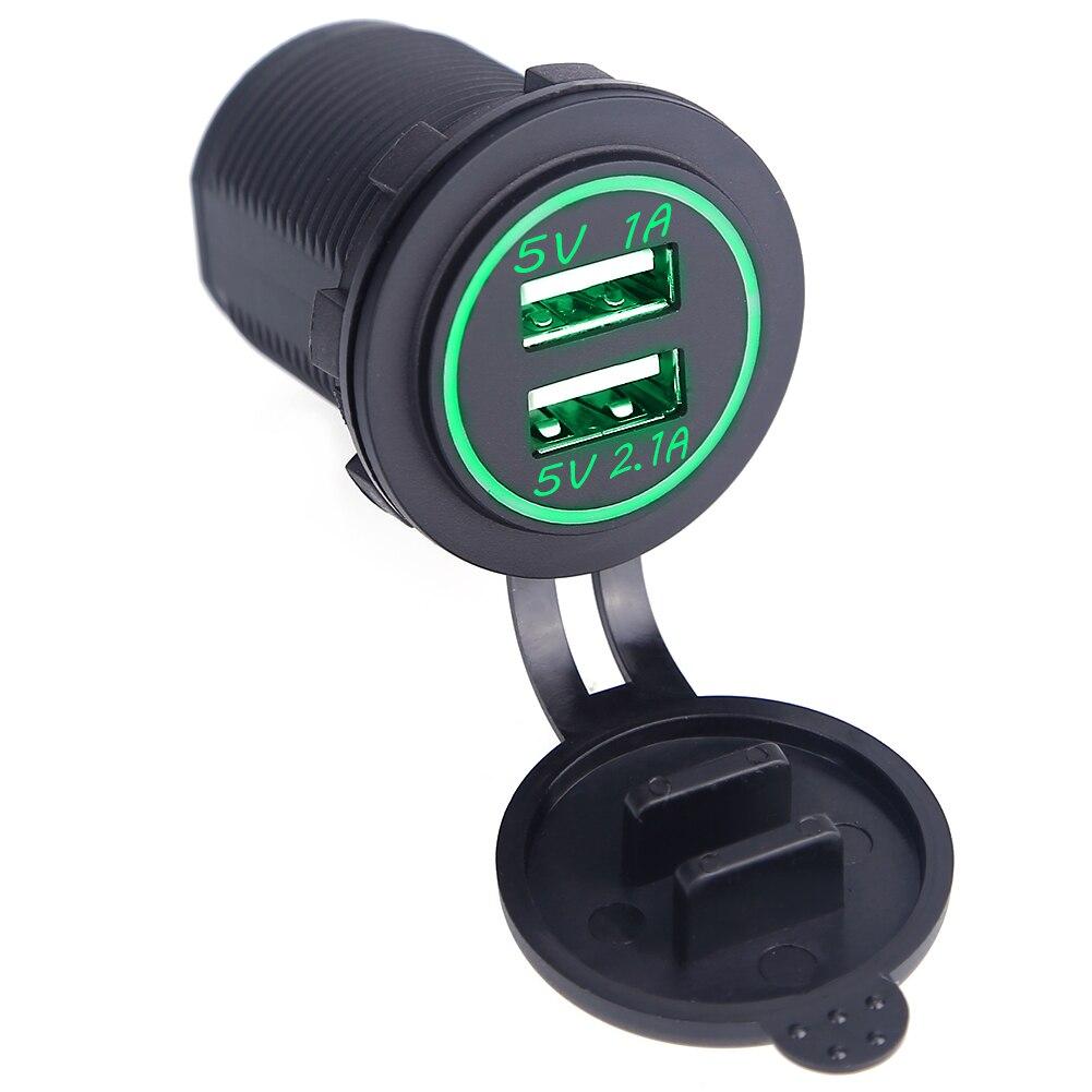 անջրանցիկ մոտոցիկլ USB ավտո լիցքավորիչ - Ավտոմեքենաների էլեկտրոնիկա - Լուսանկար 5