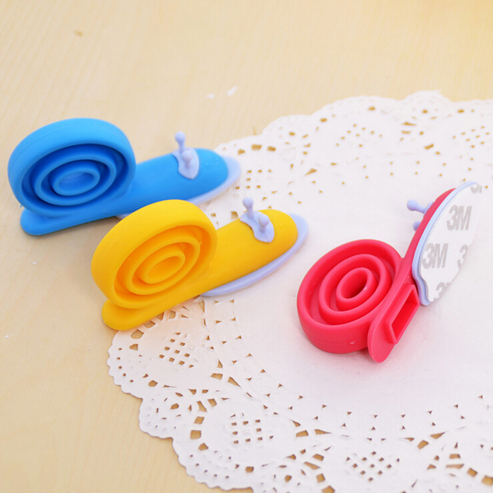EVA Plastic Snail Shape Door Stops Baby Safety Door Stopper Protector Safe For Baby Care Random Color