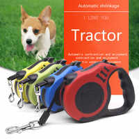 Automatic telescopic traction rope pet tractor small and medium-sized dog cat plastic manufacturers direct sales