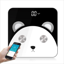 Hot Smart Floor Scale Bathroom Body Fat Weight Scale Home Bmi Weighing mi Scale Digital Weighing Scale Balance Humain Panda Gift стоимость