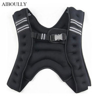 GSZHXCK weighted vest with the weighting 5KG/10KG weights vest invisible steel sand running fitness workout equipment 1pc