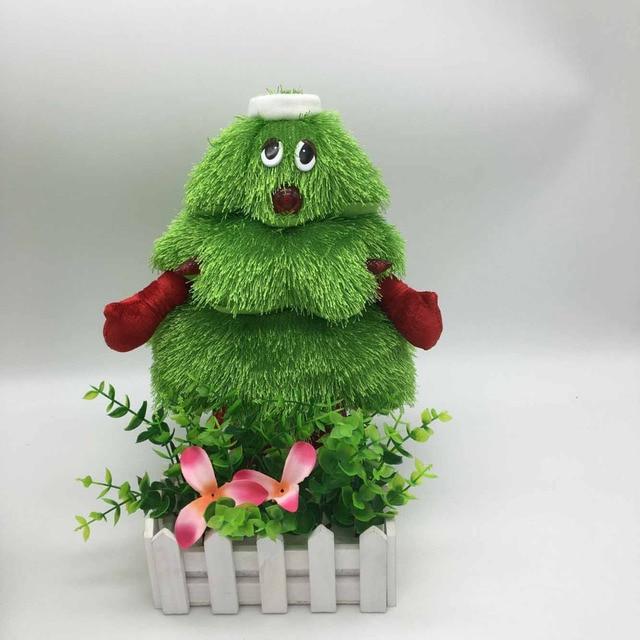 2017 New Christmas Tree Plush Plants Toys Girls Christmas Gifts ...