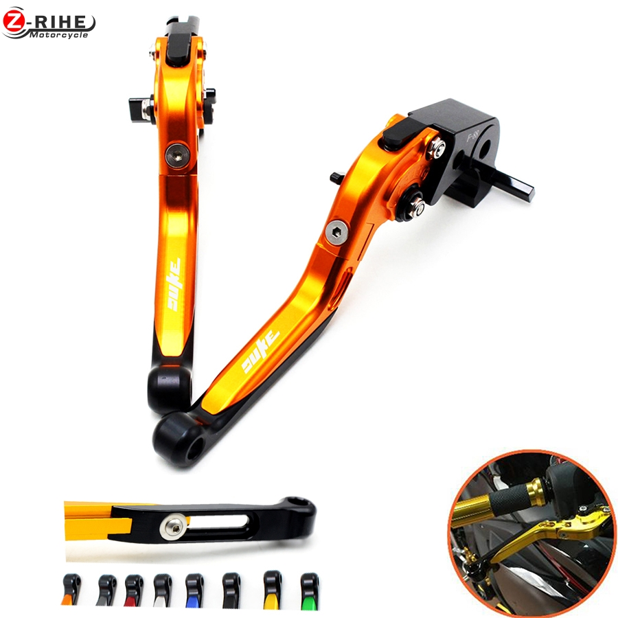 Brake accessories Folding Adjustable Motorcycle Brake Clutch Levers Telescopic folding For ktm 690 Duke R 2014 2015 2016 14 15 1 billet alu folding adjustable brake clutch levers for motoguzzi griso 850 breva 1100 norge 1200 06 2013 07 08 1200 sport stelvio