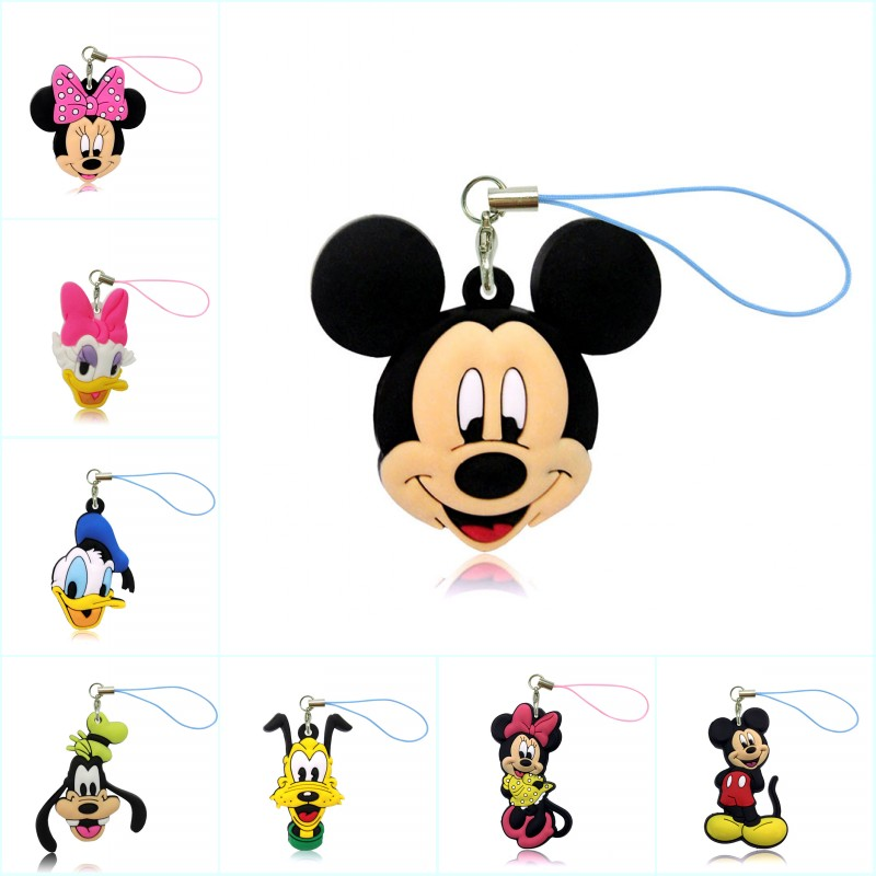 1PCS Mickey Cartoon Figure Keychains for $4.99