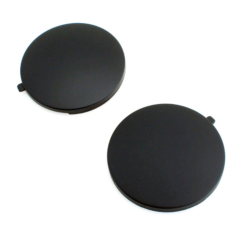 TAIHONGYU Black 2pcs Rear Seat Smoking Cover Ashtray Cap For VW Bora Jetta Golf Mk4 1J0 863 359 E 2QL