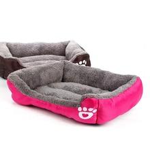 Кровать для маленьких, средних и больших собак, Размер 2XL, домик для домашних собак, теплый хлопковый домик для щенков, кошек, кровати для чихуахуа, йоркширского, золотого цвета, большая кровать для собак