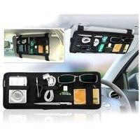 Car Sun Visor Board Storage Board Multi Function Storage Car Card Phone Rack