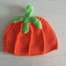 Halloween Crochet Hat Pumpkin hat  Kids Hat