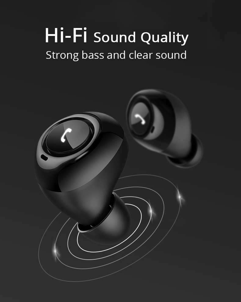 High Sound TWS CP7 Bluetooth 5.0 Earbuds Online | Cornmi.com