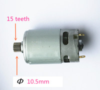 15 Teeth Motor Replacement Parts Parts Set 10 8V 12V For BOSCH GSR1080 2 LI Cordless