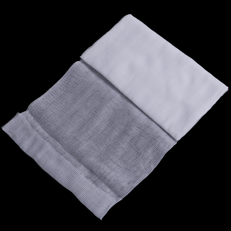 White 1.5 Yard <font><b>Cheese</b></font> <font><b>Cloth</b></font> Bleached Width 23.5cm Gauze Cheesecloth <font><b>Fabric</b></font> Muslin Kitchen Cooking Tools image