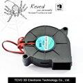 5 PCS peças de Impressora 3D 50mm x 50mm x 15mm 5 cm 5015 50mm Radial Turbo Blower Fan DC 12 V com 30 cm ventilador de refrigeração