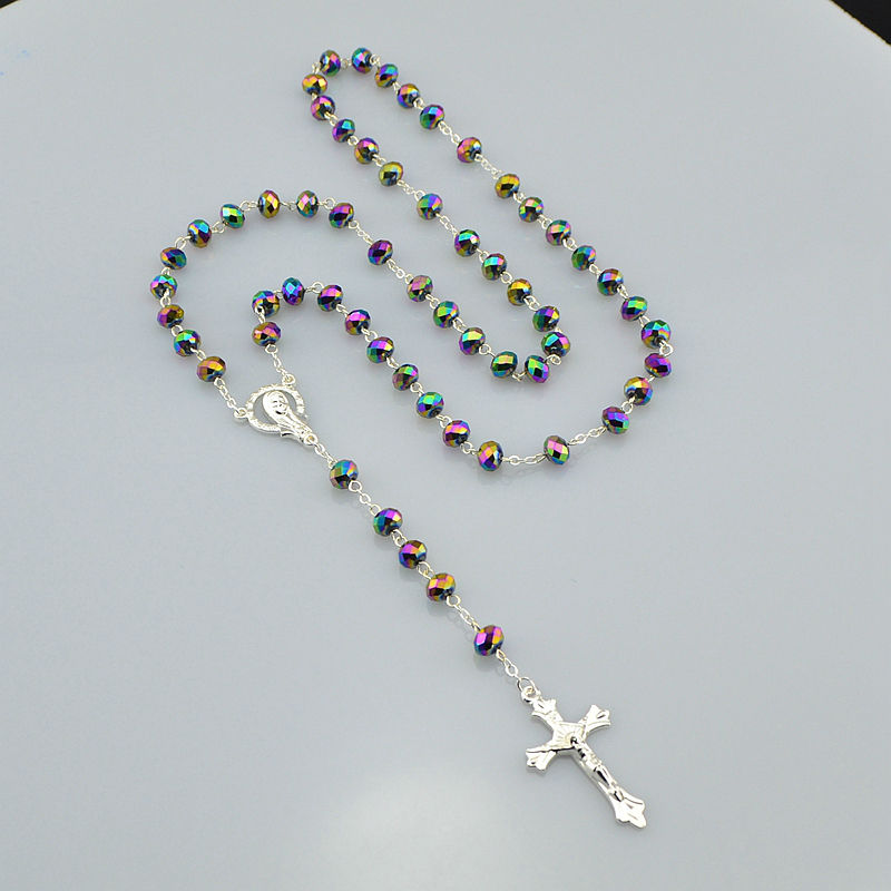Catholic Religious Women Silver Plated Christian Virgin ...