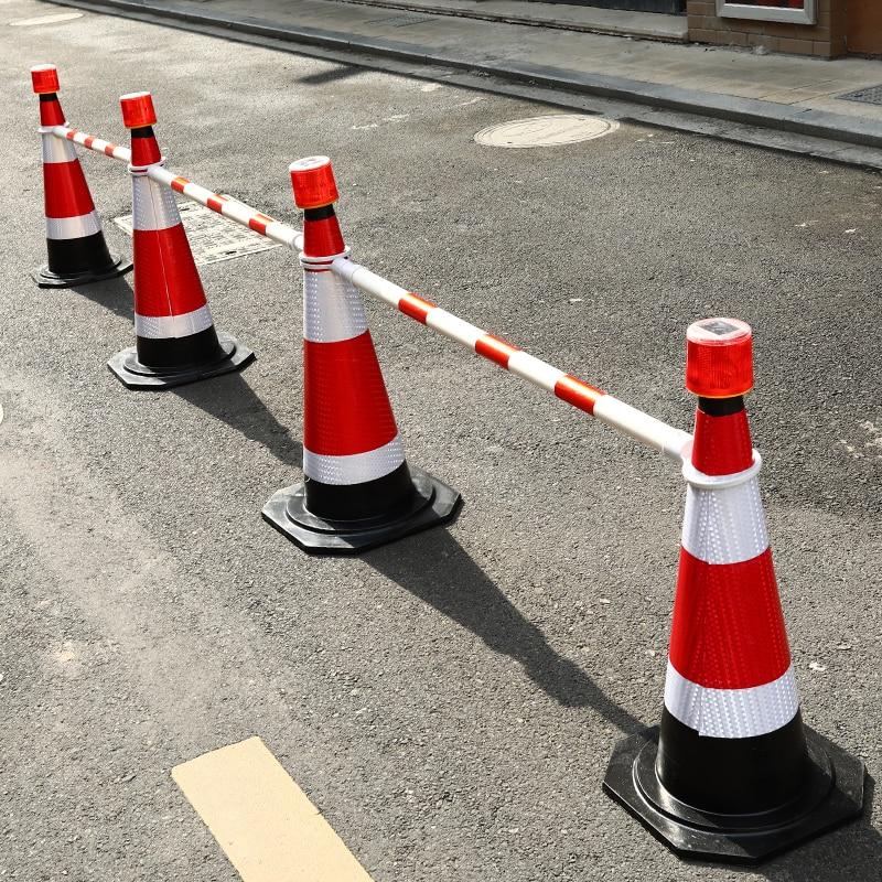Rubber road cone, reflective cone, 50cm ice cream cone, isolation pier, warning column туфли pier one pier one pi021awuyi57