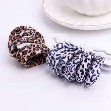6 Pcs Cotton Hair Scrunchies