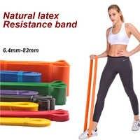 Bandes élastiques de résistance de boucle de caoutchouc de gomme de forme physique pour des bandes de Yoga de Crossfit d'entraînement d'extenseur d'entraînement d'équipement de forme physique