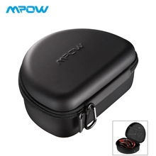 Mpow Universal Waterproof Shockproof Foldable Headphone Carrying Case Bag Pouch For Bluedio/Anker/Edifier/Tromsmart Headphones