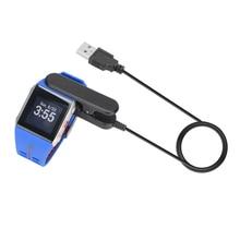 Cargador original reloj pulsera inteligente bluetooth smartwatch para cargador de smart watch v800 polar polar con capacidades de datos l3fe