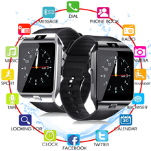 все цены на Touch Screen Smart Watch dz09 With Camera Bluetooth WristWatch SIM Card Smartwatch For Ios Android Phones Support Multi language онлайн