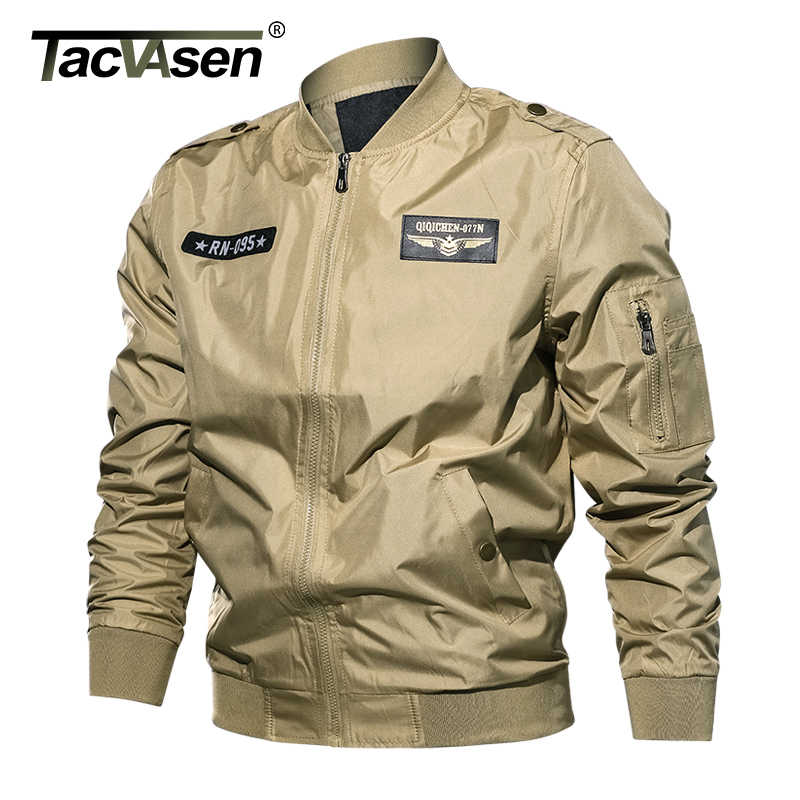 7a5d56bf1 Detail Feedback Questions about TACVASEN Autumn Men Bomber Jacket ...