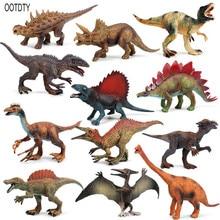 68pcs set mini animal world zoo simulated solid dinosaur model set toys boys action figures cartoon collection children toy gift Retro Simulation Jurassic Dinosaur Model Toys Indoraptor Toy Set For Boys Action Figure