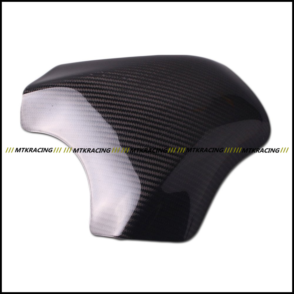 Free shipping Carbon Fiber Fuel Gas Tank Protector Pad Shield For KAWASAKI ZX-10R ZX10R 2004-2005 black color motorcycle accessories carbon fiber fuel gas tank protector pad shield rear carbon fiber for kawasaki z1000 03 06
