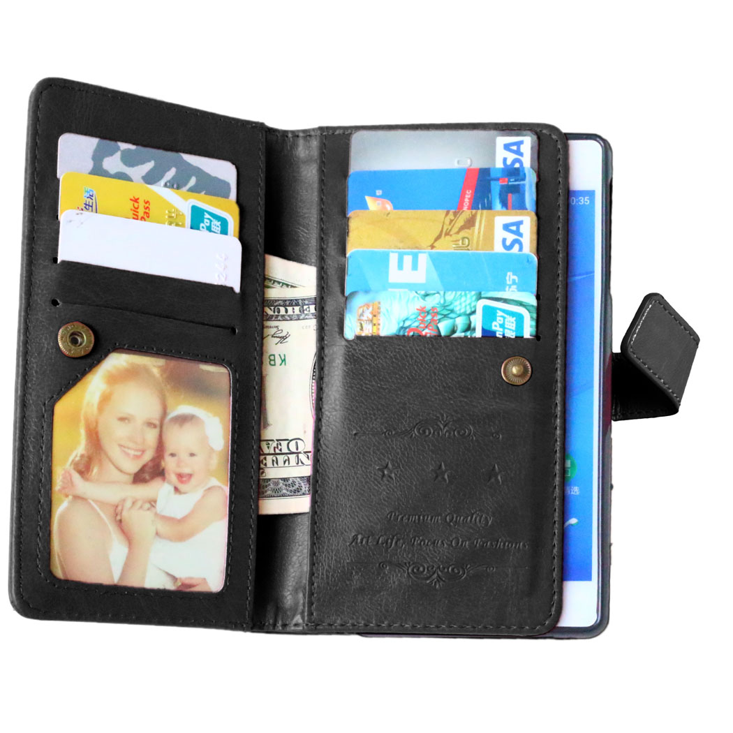 WolfRule For Cover Sony Xperia Z3 Case For Sony Z3 Case Photo Frame Wallet Flip PU Phone Case For Fundas Sony Xperia Z3 L55T