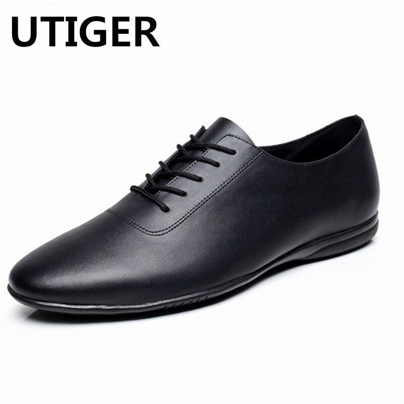 Big size 38 47 Genuine Leather Men s Latin Ballroom Dance Shoes Flat Heel Boy Men