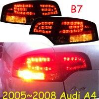 Bumper Tail lights For Audi A4 A4L 2009 2010 2011 2012 Taillights LED DRL Running lights Fog lights A4 Rear parking light
