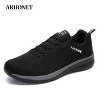 ARUONET/Новинка; модные повседневные мужские кроссовки; уличная прогулочная обувь; мужские кроссовки; Прямая доставка; Tenis Deportivos Para Hombre