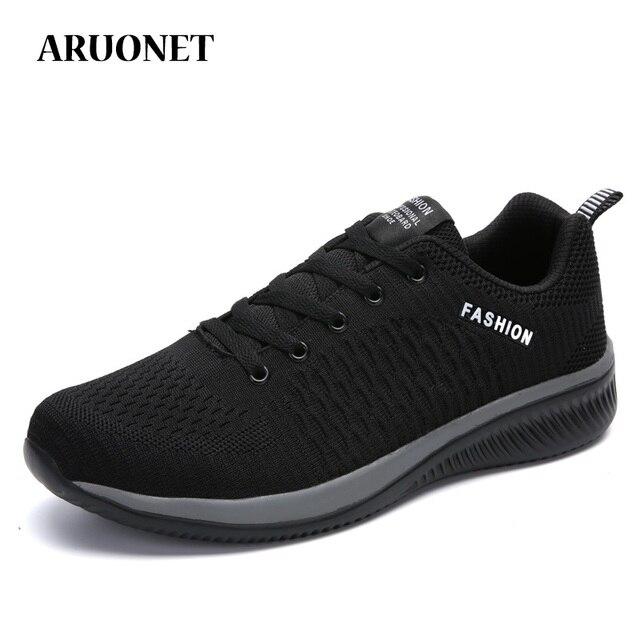 ARUONET Mới Thời Trang cho Nam Giày Sneaker Ngoài Trời Giày Đi Bộ Nam Huấn Luyện Giày Thả Vận Chuyển Tenis Deportivos Para Hombre