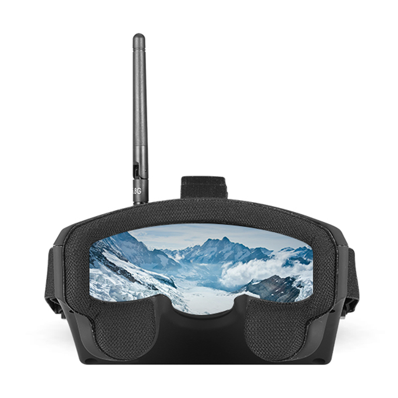 Eachine EV800 5 pouces 800x480 FPV lunettes vidéo 5.8G 40CH Raceband Auto-recherche construire dans la batterie - 4