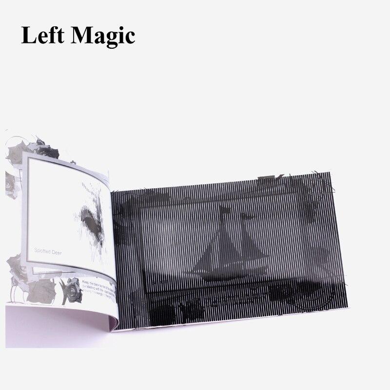 Classic Toys Magic Moving Images Book Cartoon Book Magic Animal Book Magic Tricks 1pcs /lot For Kids Gift Toy Magic Show E3166