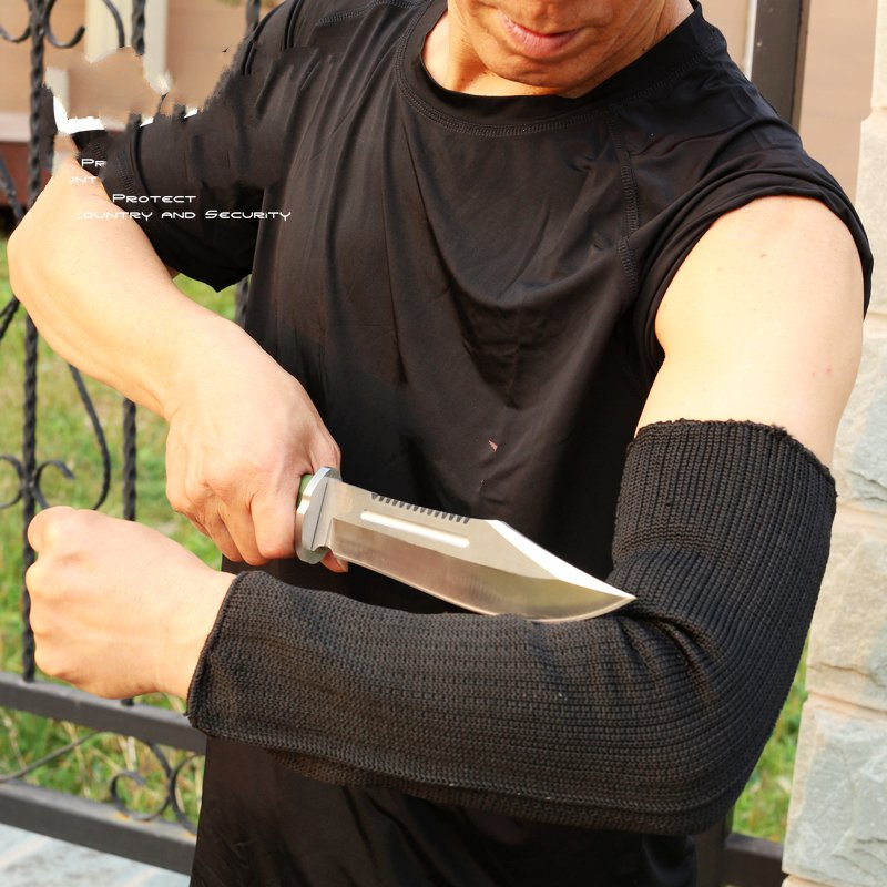Level 5 cut-resistant armband thick steel anti- cut knife stab- proof anti-scratch glass wrist armband Defense Supplies level 5 cut resistant armband thick steel anti cut knife stab proof anti scratch glass wrist defense supplies