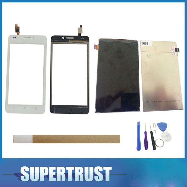 1PC/ Lot 5.0For Huawei Ascend Y635 Seperate LCD Screen Display and Touch Screen Replacement Black White Color with tape&tools1PC/ Lot 5.0For Huawei Ascend Y635 Seperate LCD Screen Display and Touch Screen Replacement Black White Color with tape&tools