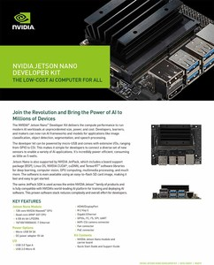 Image 5 - NVIDIA Jetson Nano A02Developer Kit for Artiticial Intelligence Deep Learning AI Computing,Support PyTorch, TensorFlow and Caffe