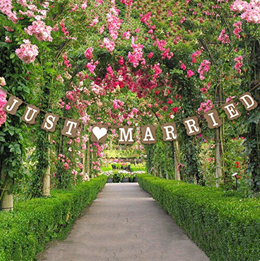 Popular just married decorations buy cheap just married for Just married dekoration