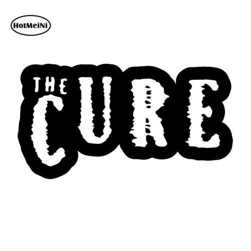 HotMeiNi The Cure Car Sticker For Truck Window Bumper Auto SUV Door Laptop Kayak Vinyl Decal Waterproof 13 Colors 15*10cm