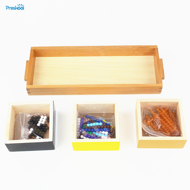 Baby Toy Montessori Multiplication Snake Game Beads Math Early Childhood Education Preschool Training Learning Toys new wooden montessori family version brown stair width 0 7 cm to 7 cm early childhood education preschool training baby gifts