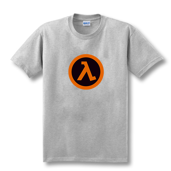 Top Quality Half Life t shirt O-Neck The fashion Funny Game shirt Cotton