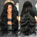 Top 7A Thick Body Wave Lace Wigs Virgin Human Hair Full Lace Wig Peruvian Body Wave Lace Front Wigs Glueless Full Lace Wig