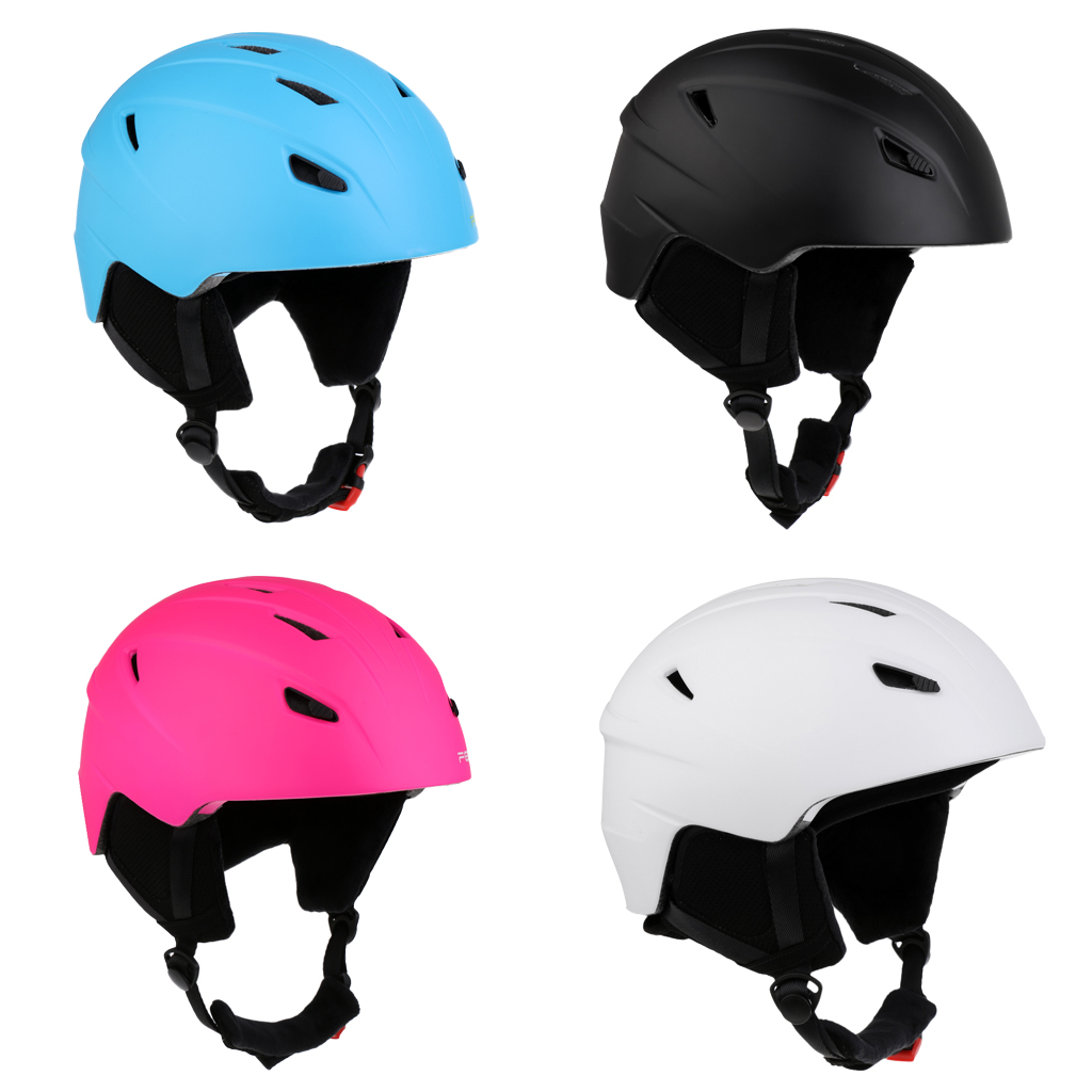 Ski Helmet Skateboard Skiing Snowboard Winter Sport Helmet Matte L/M for Skating Bicycle Cycling Sports Protective Guard Gear black kayak boating water sports helmet abs out shell prefessional water skiing helmet