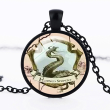 Fashion Fantasy Horror Anime Photo Jewelry Necklace Retro Men Women Dome Glass Jewelry Necklace Gift Wholesale 2017